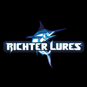 richter lures fishing logo